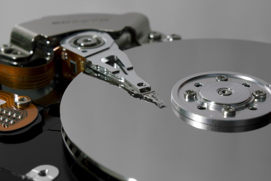 inside a hard-disk